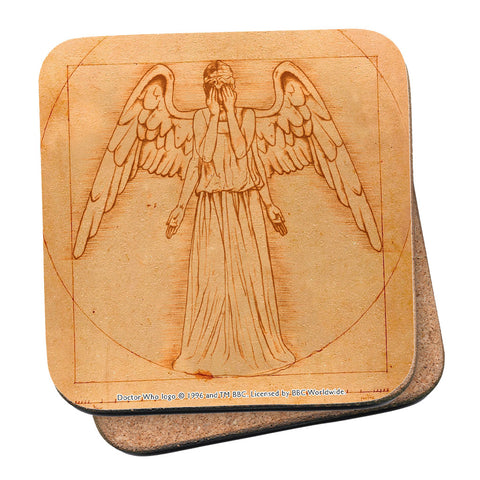 Weeping Angel - Da Vinci Coaster