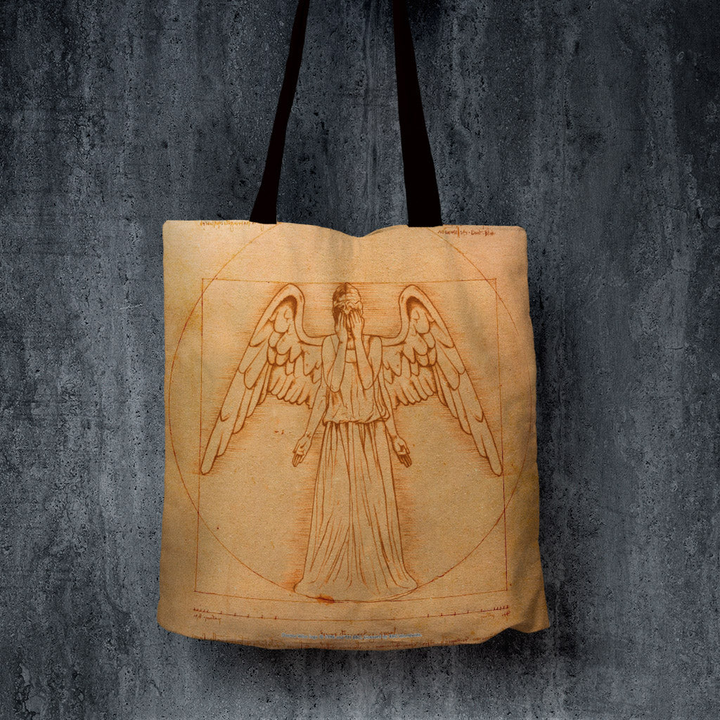 Weeping Angel - Da Vinci Edge to Edge Tote (Lifestyle)