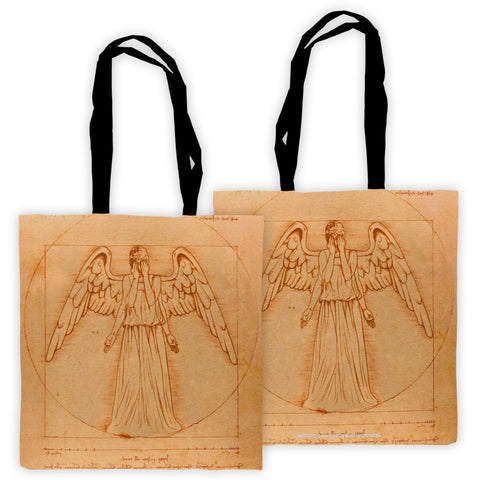 Weeping Angel - Da Vinci Edge to Edge Tote