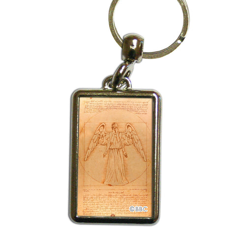 Weeping Angel - Da Vinci Metal Keyring