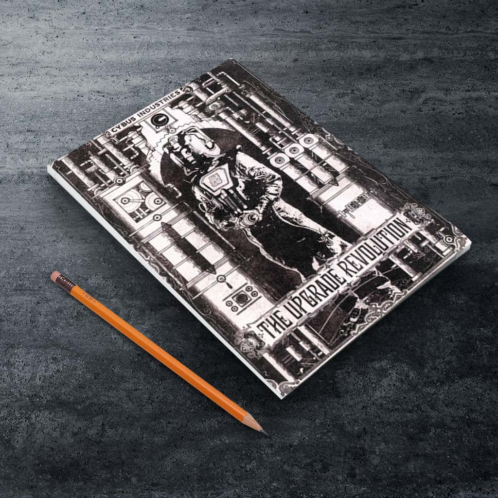 Cyberman 'THE UPGRADE REVOLUTION' A5 Notepad (Lifestyle)