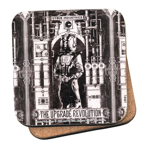 Cyberman 'THE UPGRADE REVOLUTION' Coaster