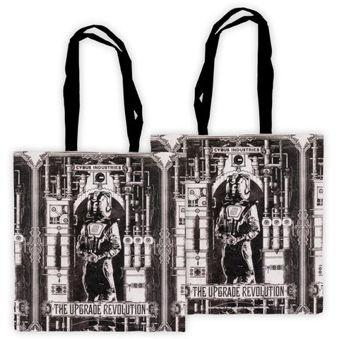Cyberman 'THE UPGRADE REVOLUTION' Edge to Edge Tote