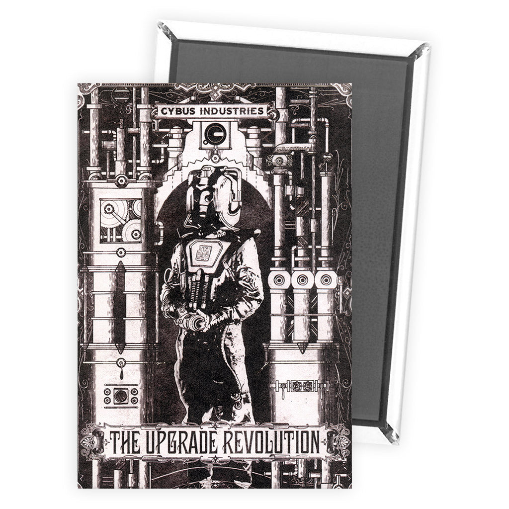 Cyberman 'THE UPGRADE REVOLUTION' Magnet