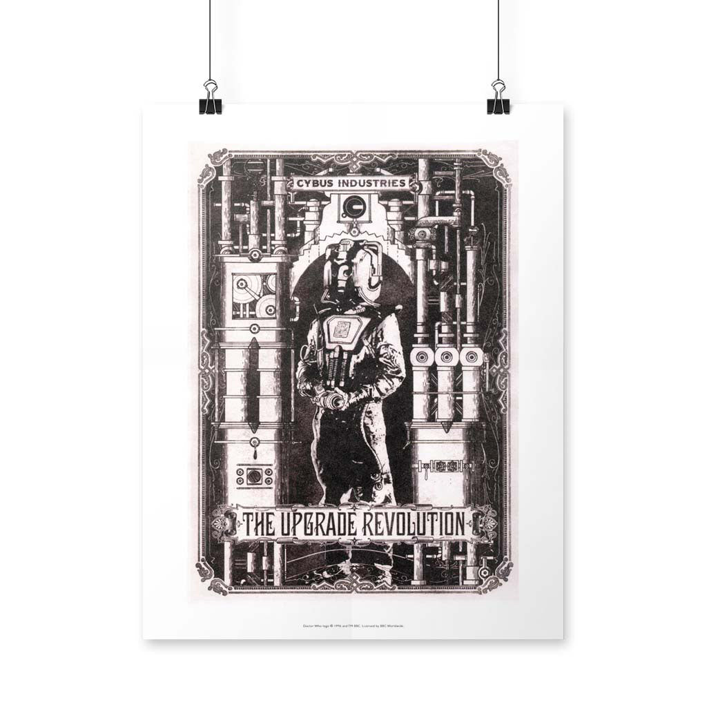 Cyberman 'THE UPGRADE REVOLUTION' Art Print