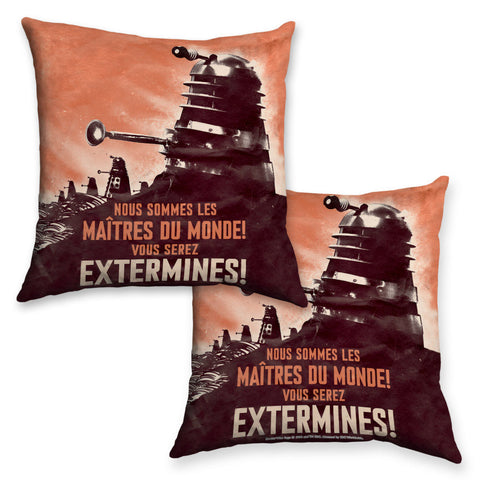Dalek 'EXTERMINES!' Cushion