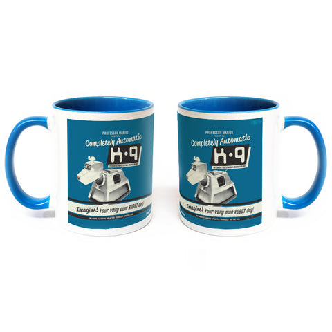 K9 'Your Very Own Robot Dog!' Colour Insert Mug