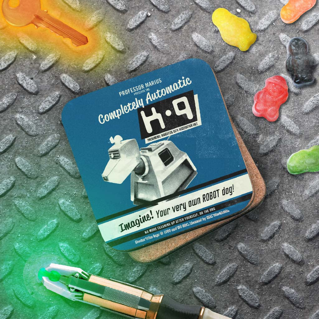 K9 'Your Very Own Robot Dog!' Coaster (Lifestyle)