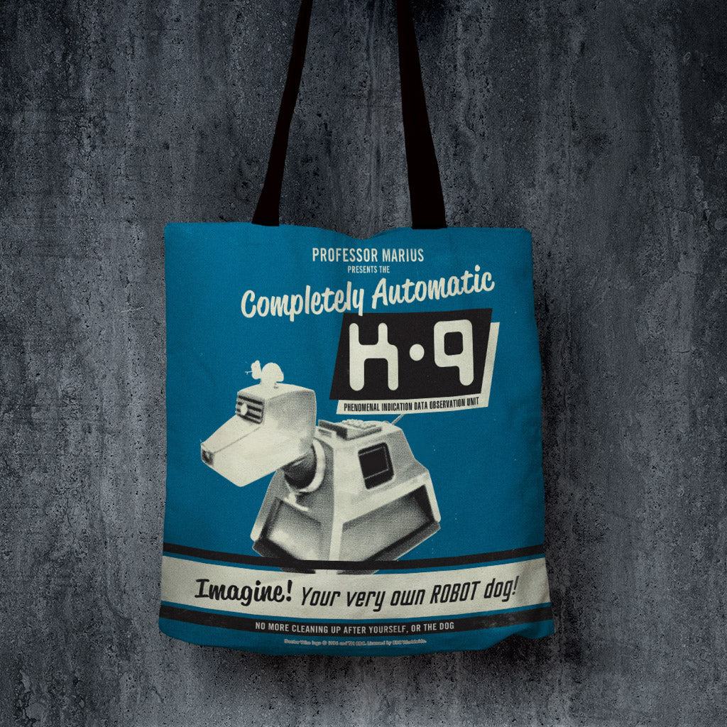 K9 'Your Very Own Robot Dog!' Edge to Edge Tote (Lifestyle)