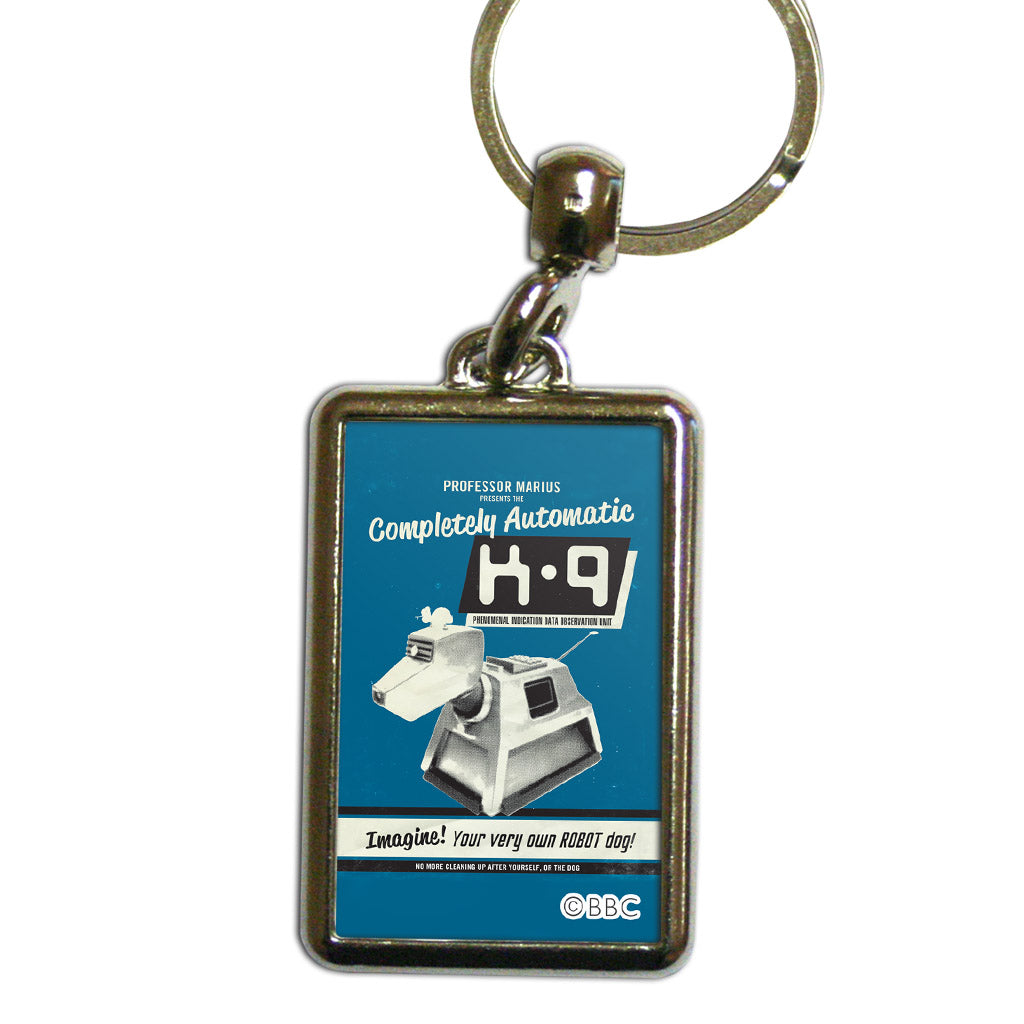 K9 'Your Very Own Robot Dog!' Metal Keyring