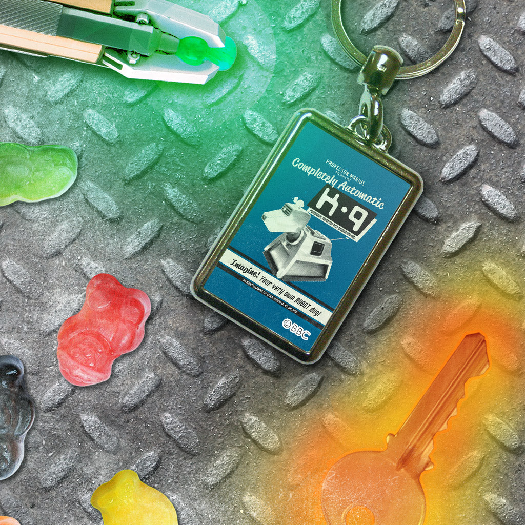 K9 'Your Very Own Robot Dog!' Metal Keyring (Lifestyle)