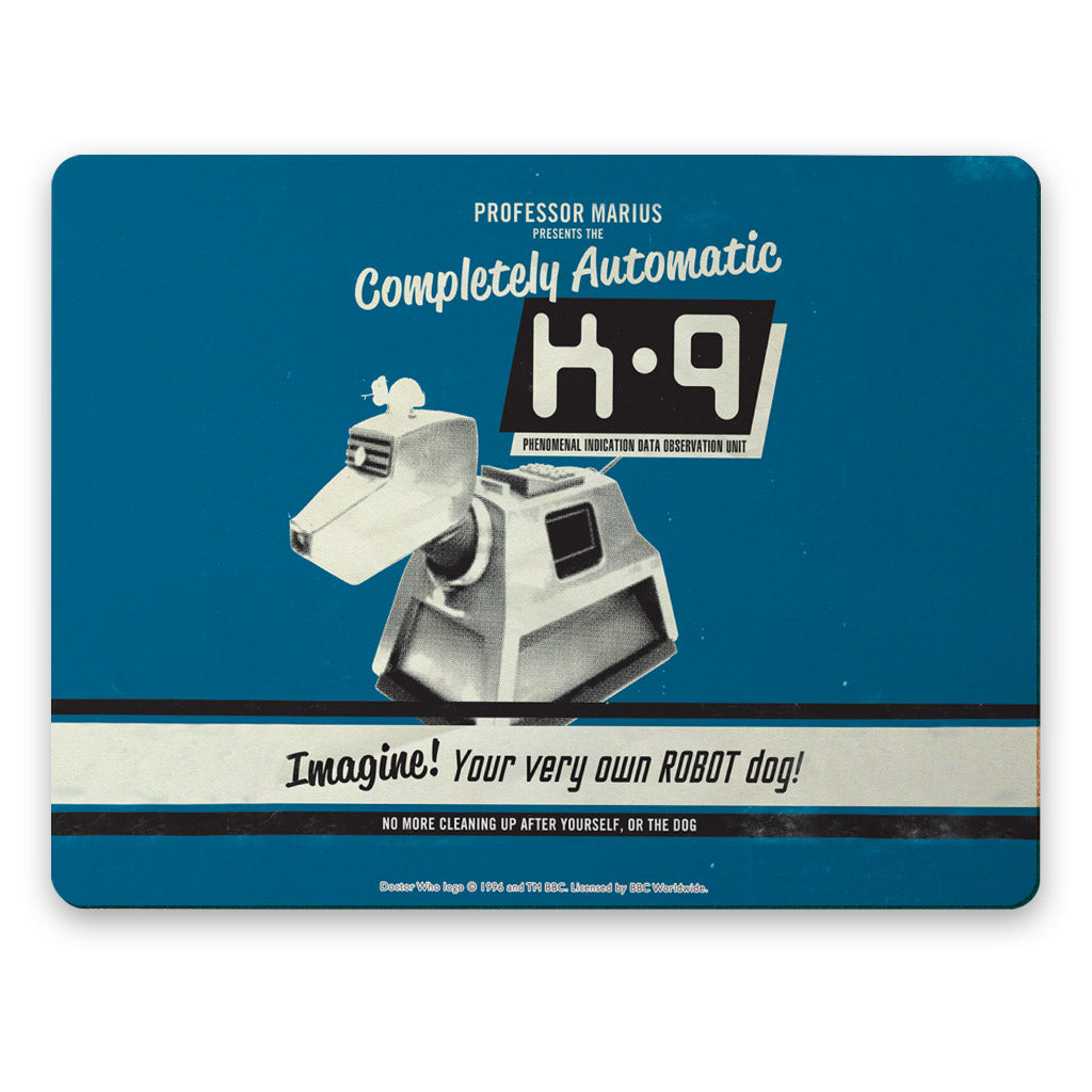 K9 'Your Very Own Robot Dog!' Placemat