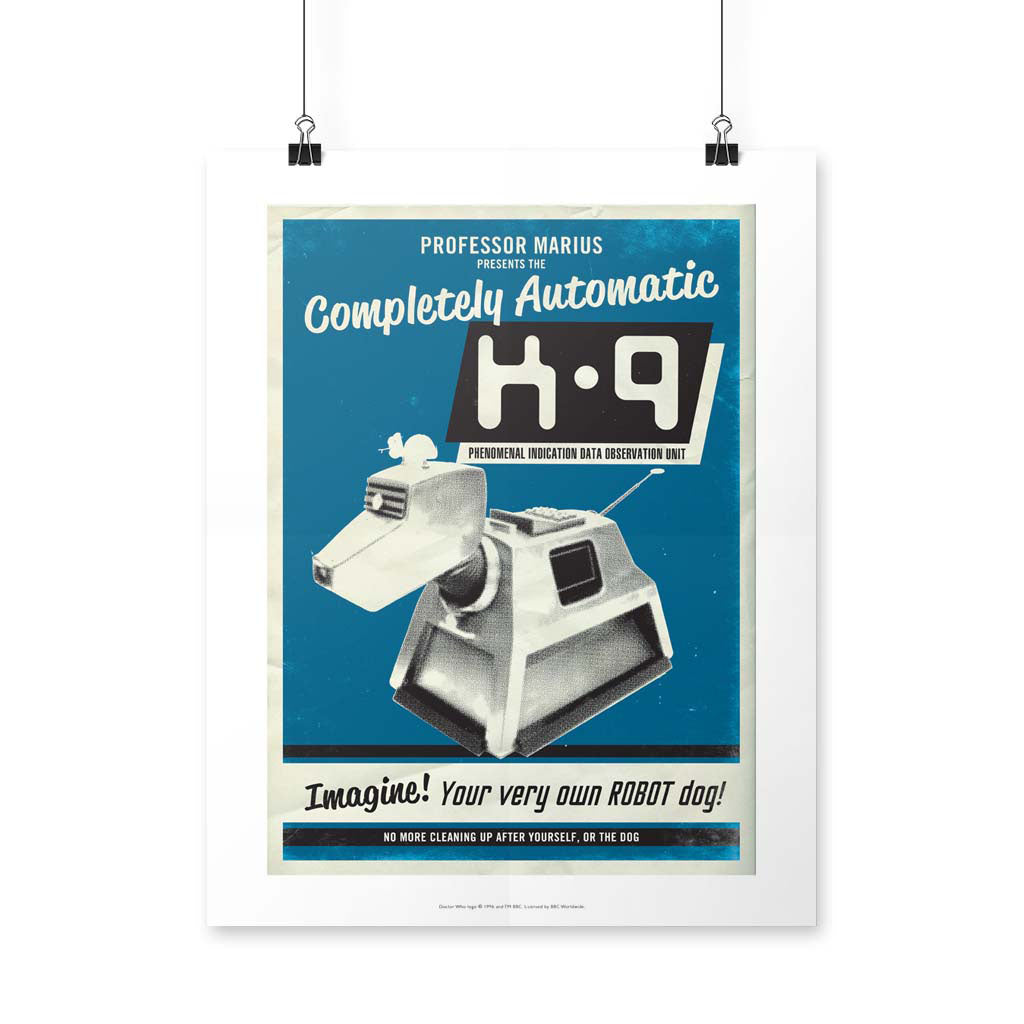 K9 'Your Very Own Robot Dog!' Art Print