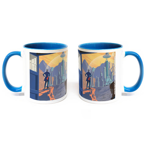 Gallifrey Travel Poster Colour Insert Mug