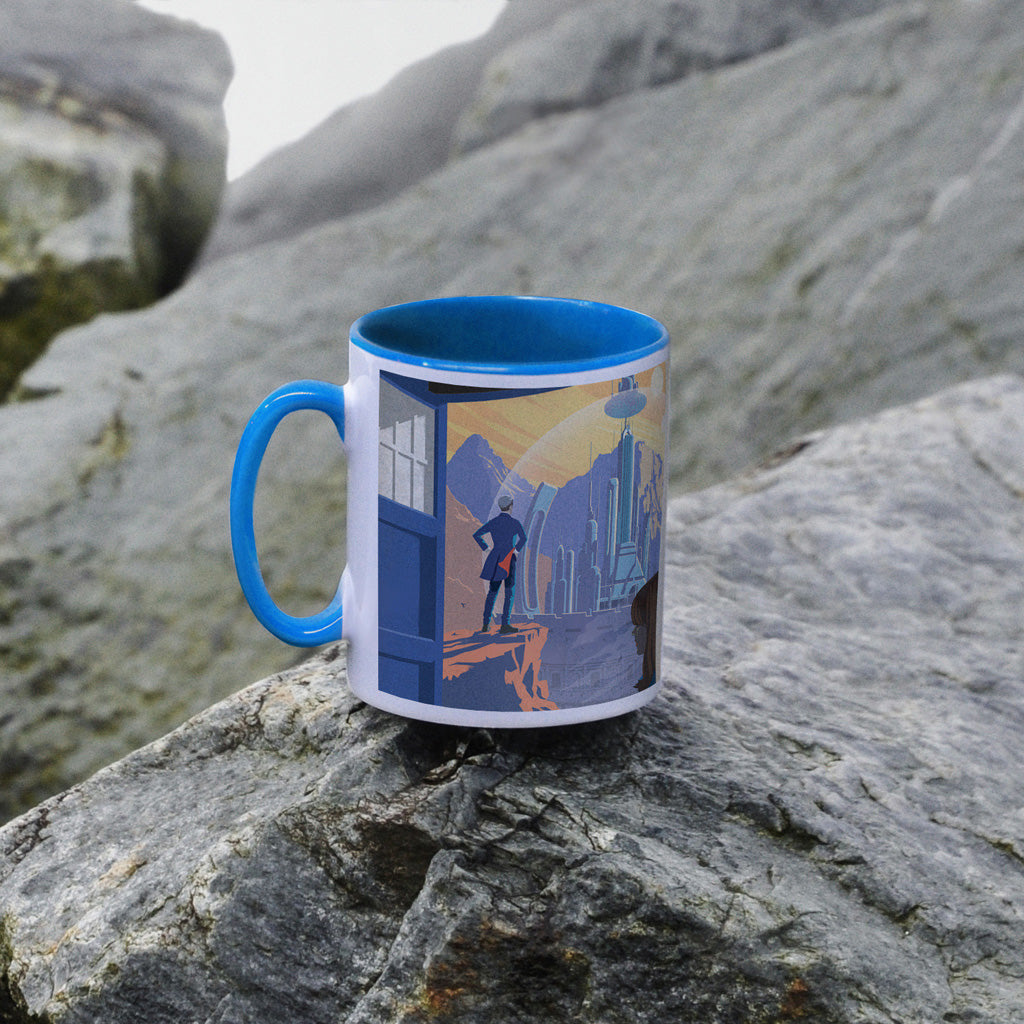 Gallifrey Colour Insert Mug