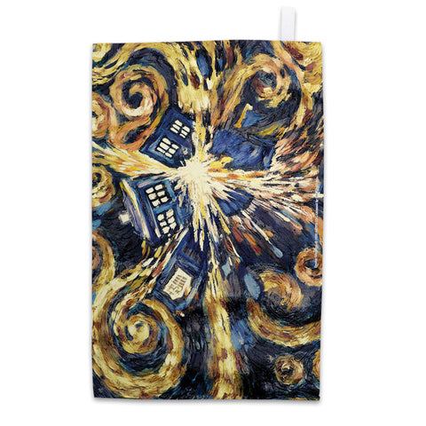 Van Gogh - The Pandoric Opens Tea Towel