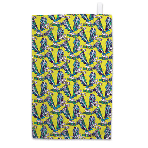 Gridlock Cymberman Tea Towel