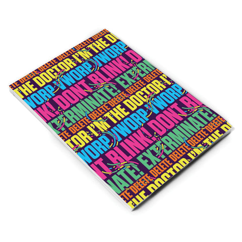 Gridlock Words A5 Notepad