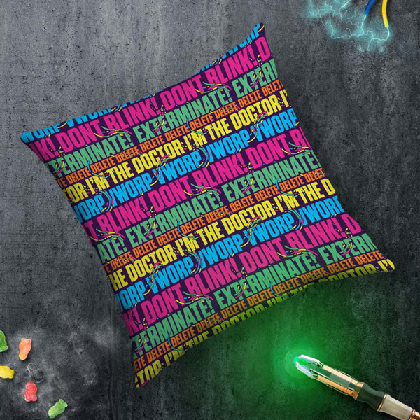 Gridlock Words Cushion