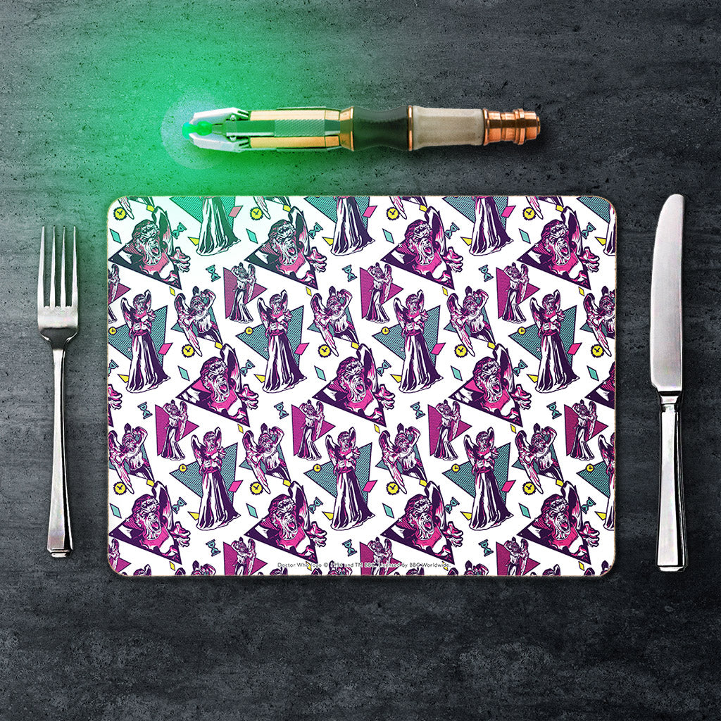 Gridlock Weeping Angel Placemat (Lifestyle)