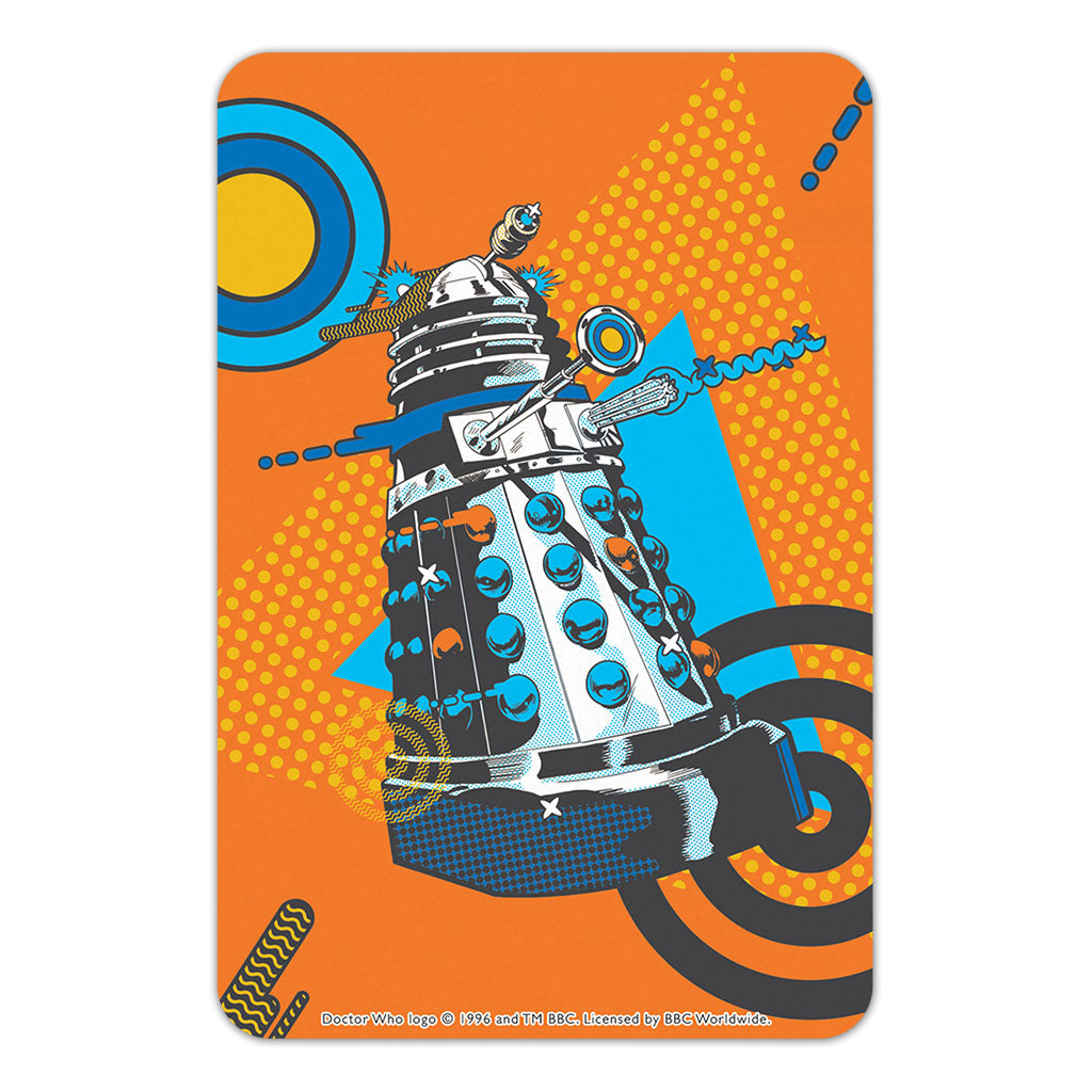 Gridlock Dalek Door Plaque