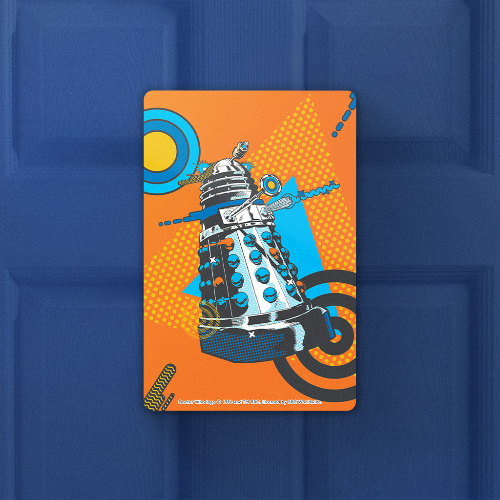 Gridlock Dalek Door Plaque (Lifestyle)
