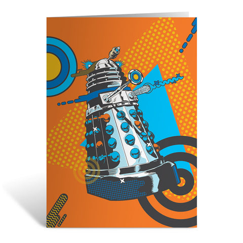 Gridlock Dalek Greeting Card