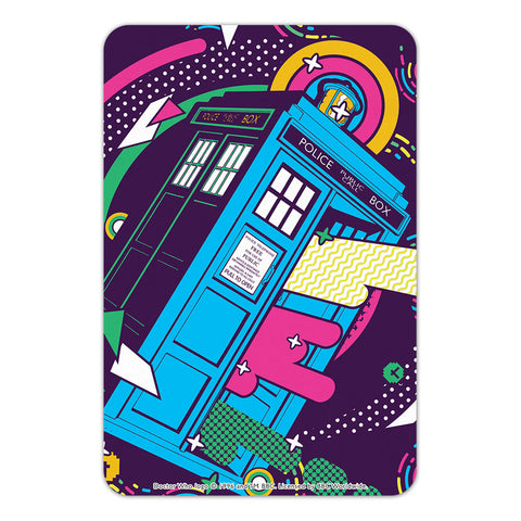 Gridlock Tardis Door Plaque