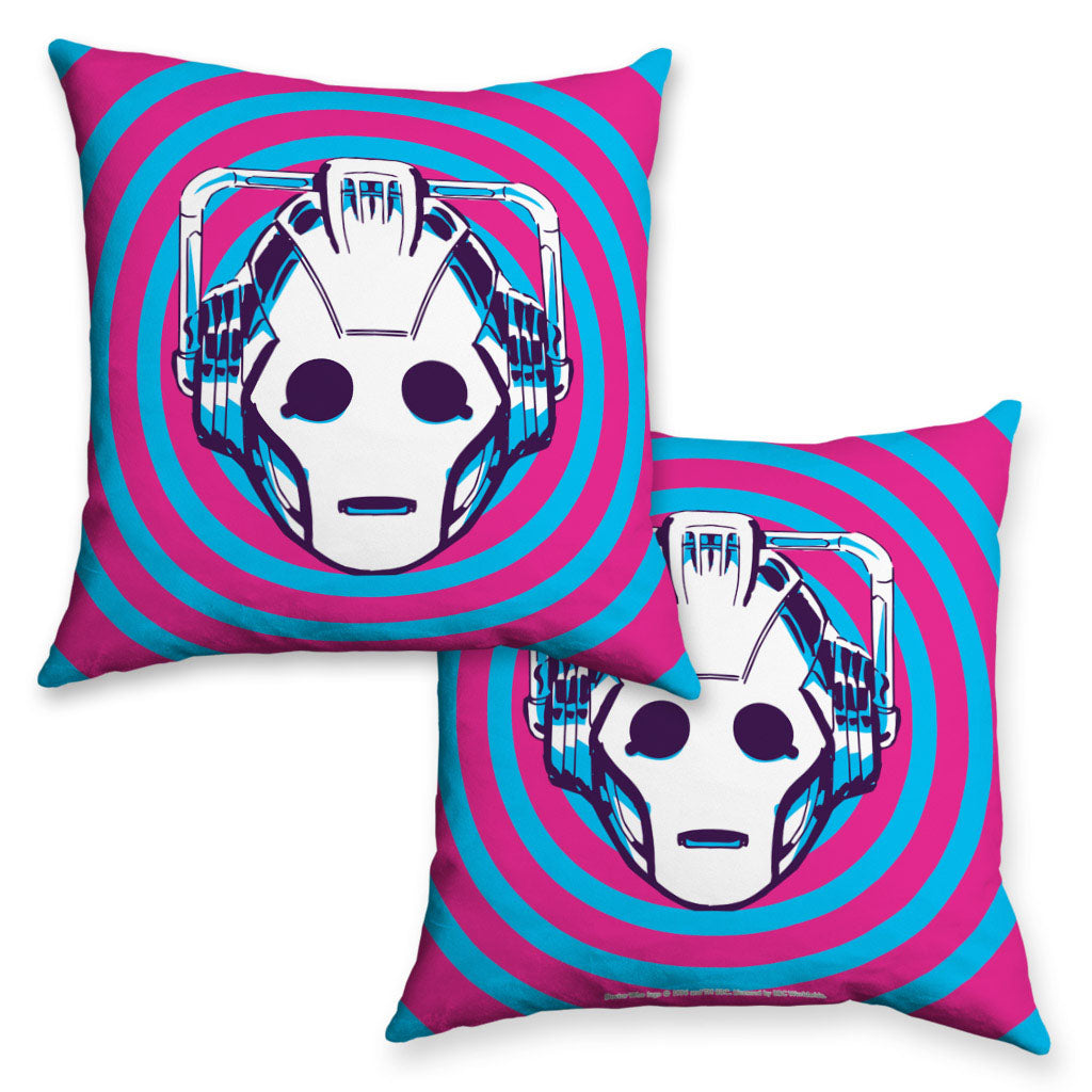 Gridlock Cyberman Cushion