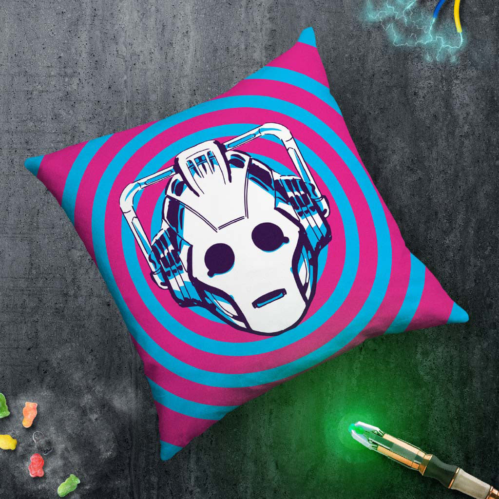Gridlock Cyberman Cushion (Lifestyle)