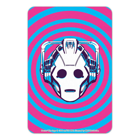 Gridlock Cyberman Door Plaque