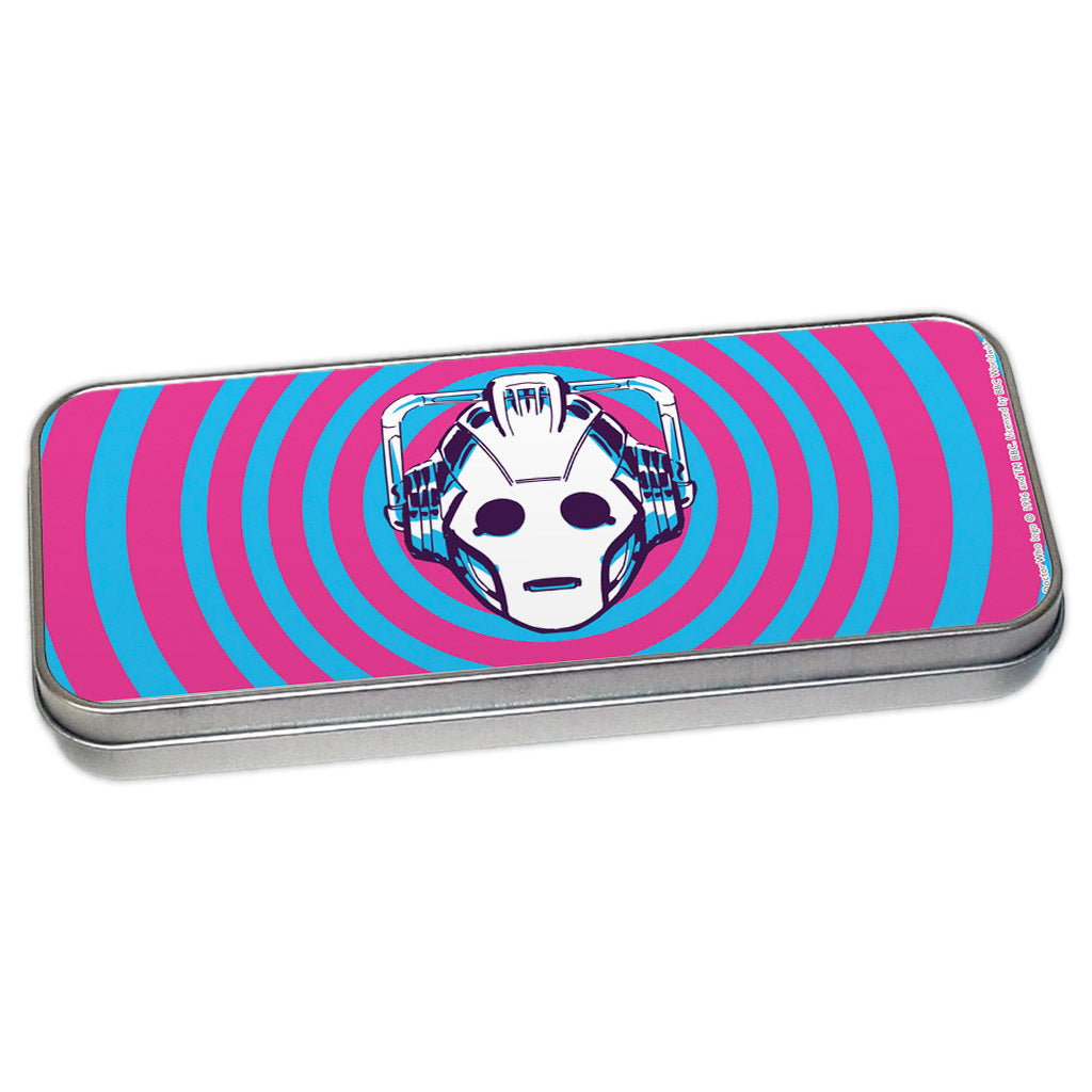 Gridlock Cyberman Pencil Tin