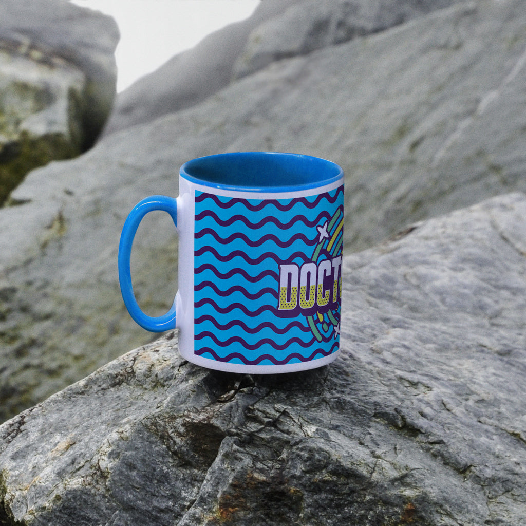 Gridlock Doctor Who Colour Insert Mug (Lifestyle)