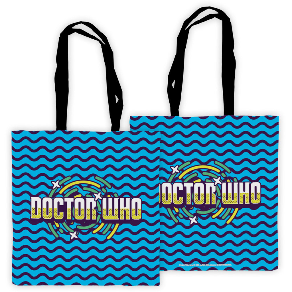Gridlock Doctor Who Edge to Edge Tote