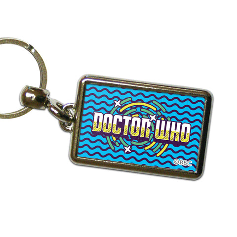 Gridlock Doctor Who Metal Keyring