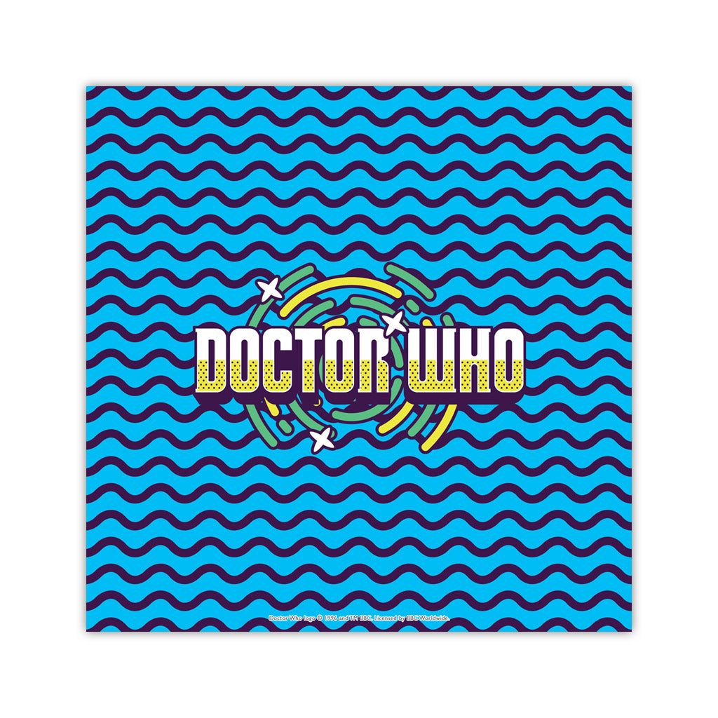 Gridlock Doctor Who Square Art Print