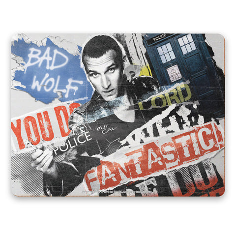 Ninth Doctor Collage Placemat