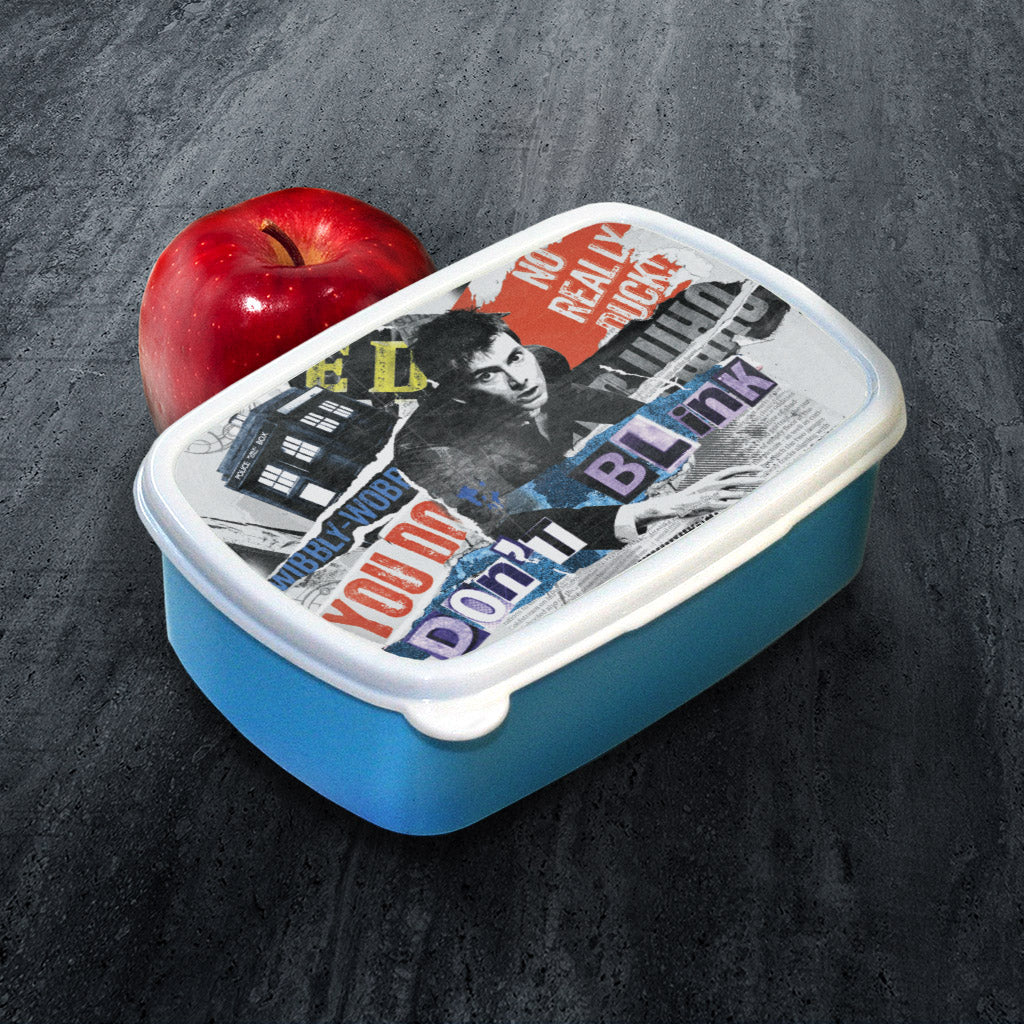 Tenth Doctor Collage Lunchbox (Lifestyle)