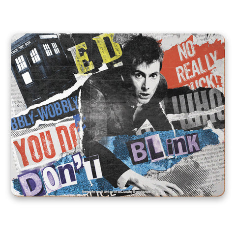 Tenth Doctor Collage Placemat