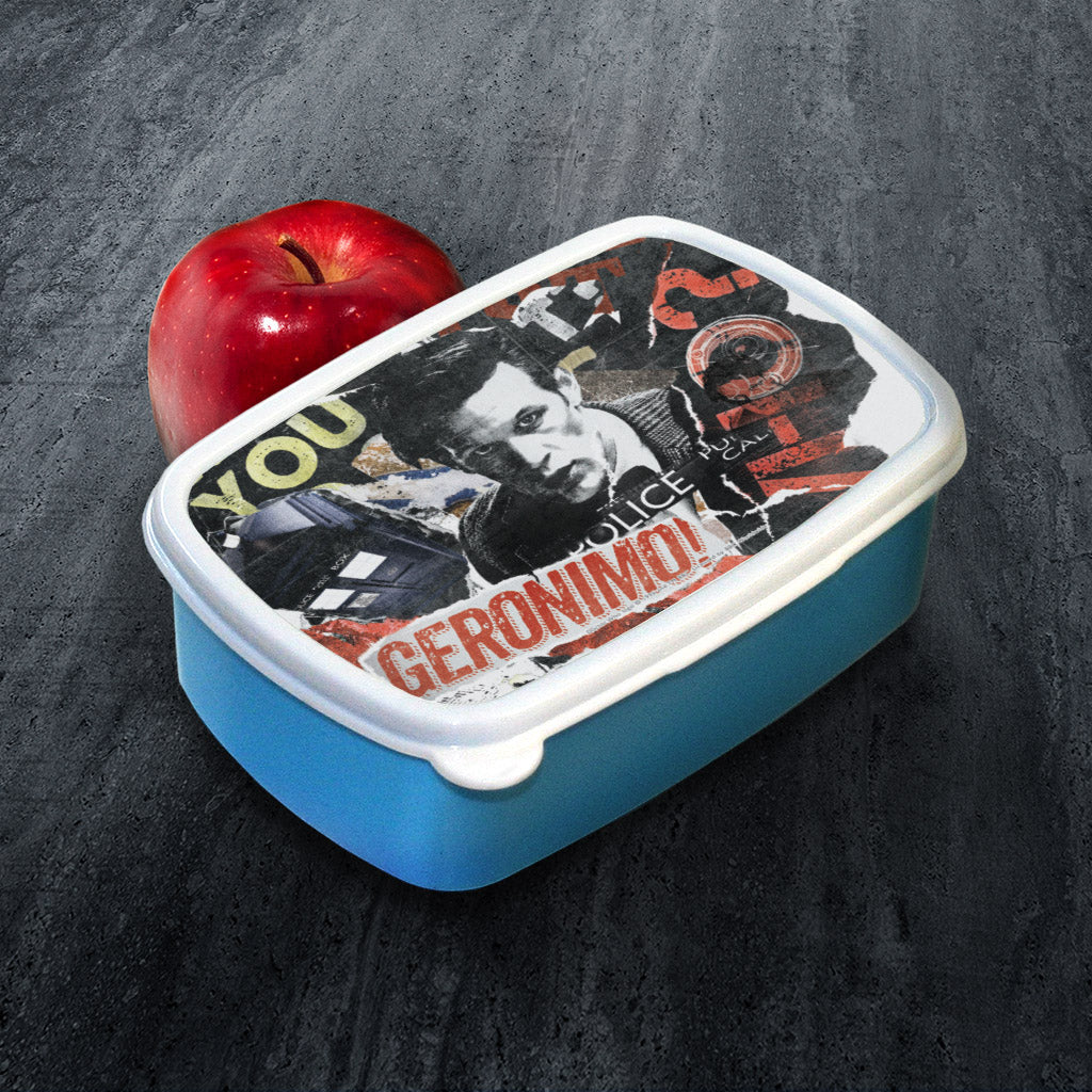 Eleventh Doctor Collage Lunchbox (Lifestyle)