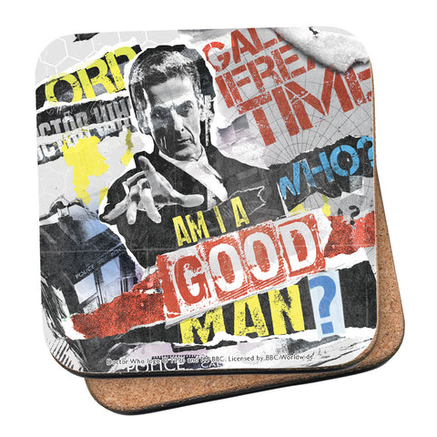 Twelfth Doctor Collage Coaster