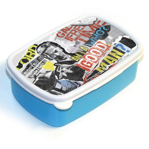 Twelfth Doctor Collage Lunchbox