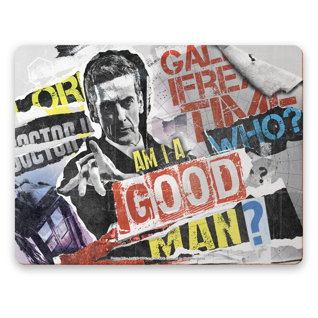 Twelfth Doctor Collage Placemat