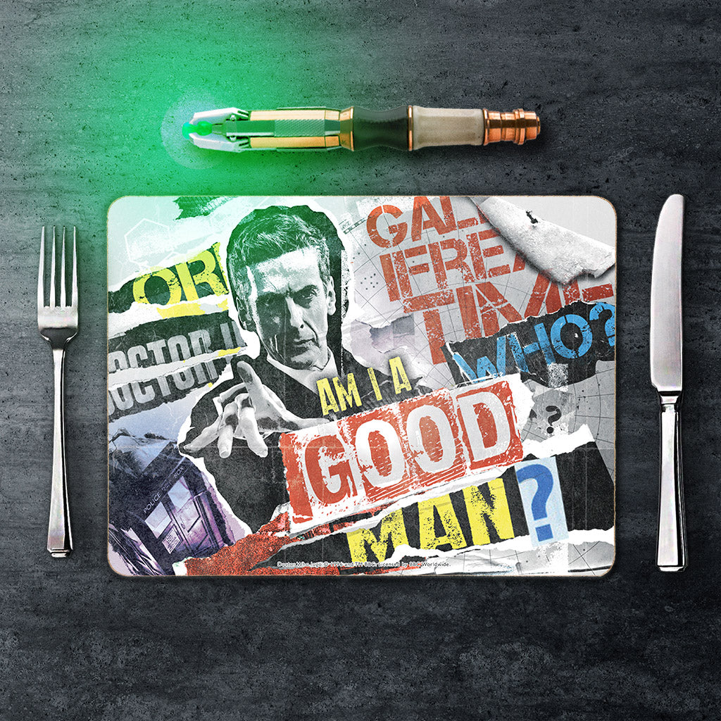Twelfth Doctor Collage Placemat (Lifestyle)