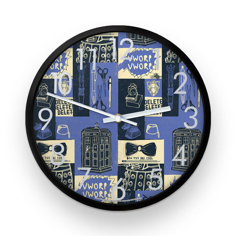 Who Home Handmade Pattern Clock