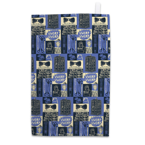 Who Home Handmade Pattern Tea Towel