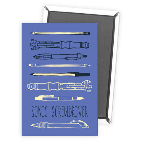 Who Home Handmade Sonic Screwdriver Magnet