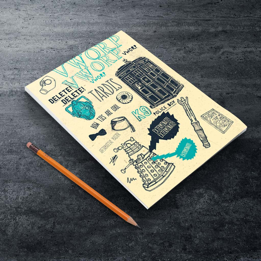 Who Handmade Elements A5 Notepad (Lifestyle)