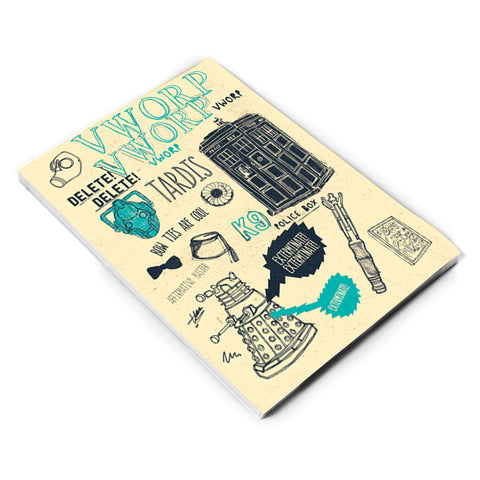 Who Handmade Elements A5 Notepad