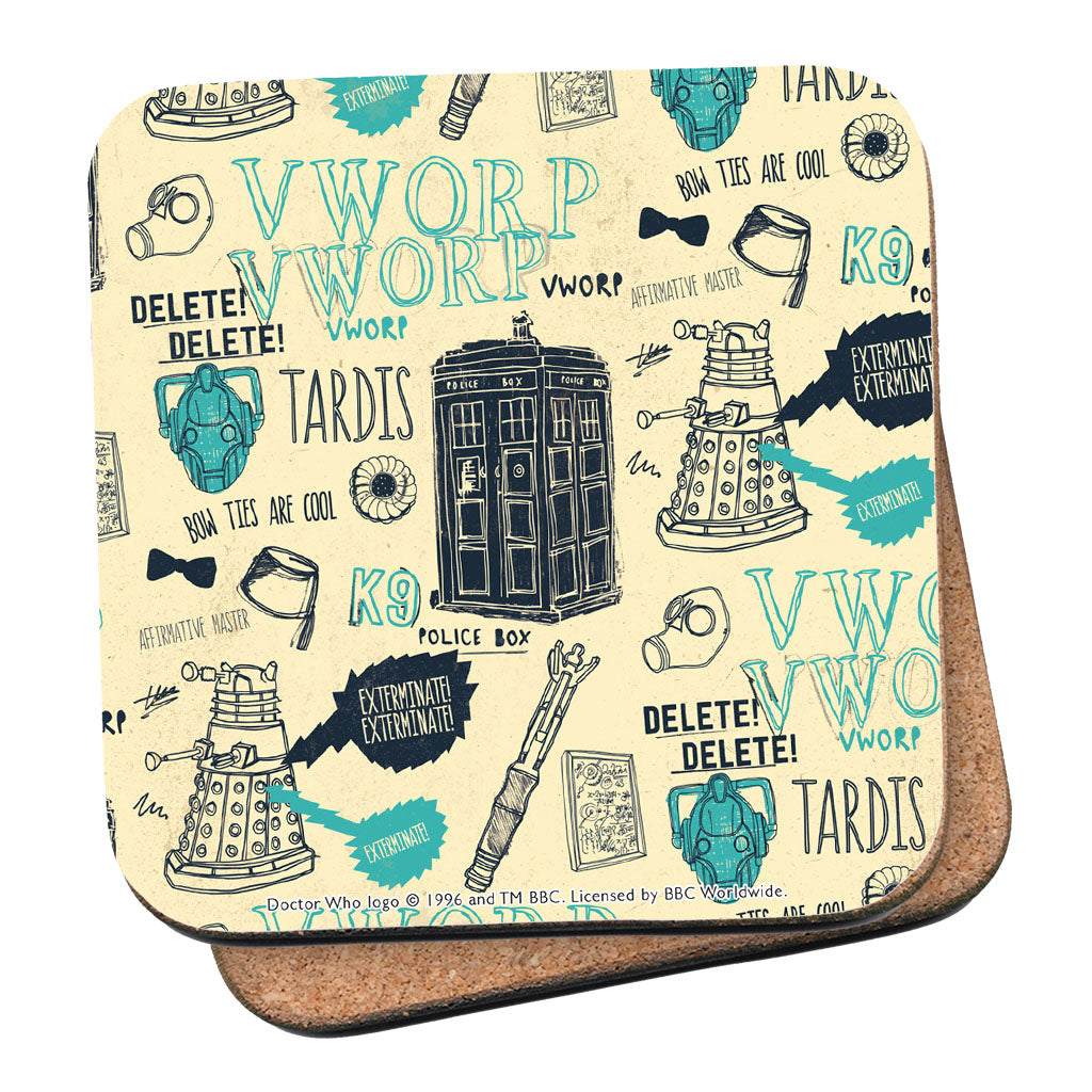 Who Handmade Elements Coaster